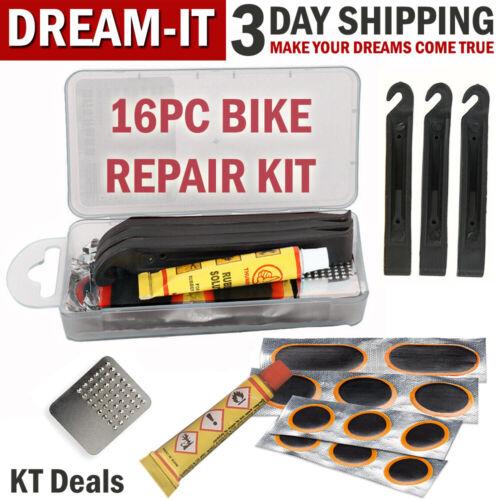 Bike Patch Repair Kit Bicycle Flat Tire Inner Tube Bike Puncture Repair Tool Set