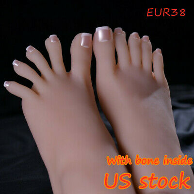 Knowu One Right Or Left Female Feet With Bone Display Legs Model With Nails Us