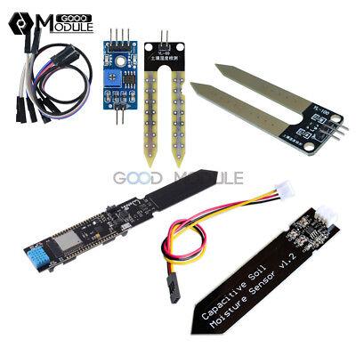 Esp32 Dht11 Soil Hygrometer Detection Moisture Sensor Module For Arduino Cp2104