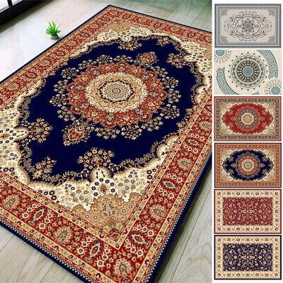 Traditional Area Rug Home Oriental Heriz Medallion Persien Carpet Runner Mat Traditional Patio Rug