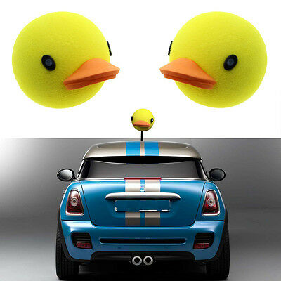 Cool Yellow Duck Car Antenna Aerial Ball Topper Truck SUV Pen Decor Gift Toy](Car Antenna Topper)