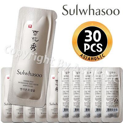 Sulwhasoo Herblinic EX Restorative Ampoules 1ml x 30pcs (30ml) Newist