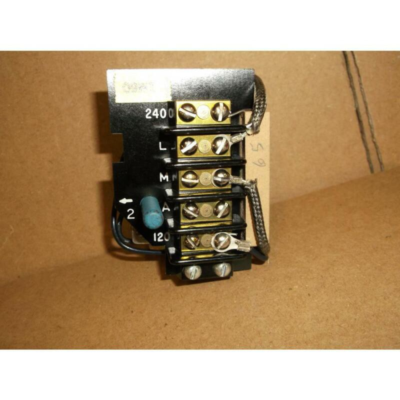 JOHNSON RLY13A-600R TIME DELAY RELAY ASSEMBLY 120/240 VAC