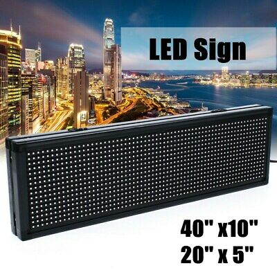 Outdoor Full Color Led Sign Open Sign For Ad Scrolling Message Programmable