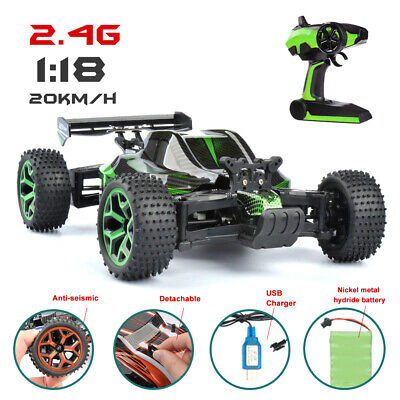 1/18 4WD RC Cars Remote Control Electric Racing Sand Buggy 2.4G RC Vehicles  RTR Electric Remote Control Race Buggy