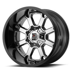 "XD Series Buck 20"" Wheels Dodge Ram 1500 Jeep JK Wheel Set 20x10 Chrome Rims Mag 5x139.7 5x127"