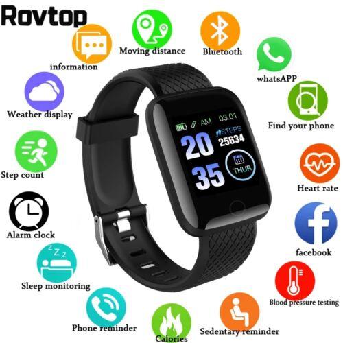 Waterproof Smart Watch Heart Rate Tracker Fitness Wristband