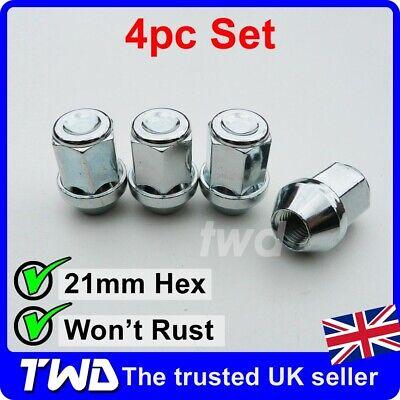 Black Locking Wheel Bolts 14x1.5 Nuts for Nissan NV400 10-16