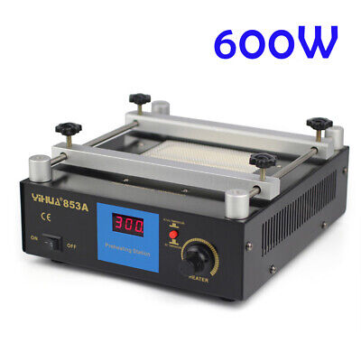 853a Lead-free Preheat Station For Bga Smt Motherboard Rework Repair 110v 600w