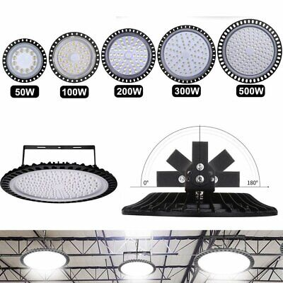 20 Pack UFO LED High Bay Light Factory Warehouse Gym Shop 50-500W (Highlight Warehouse)