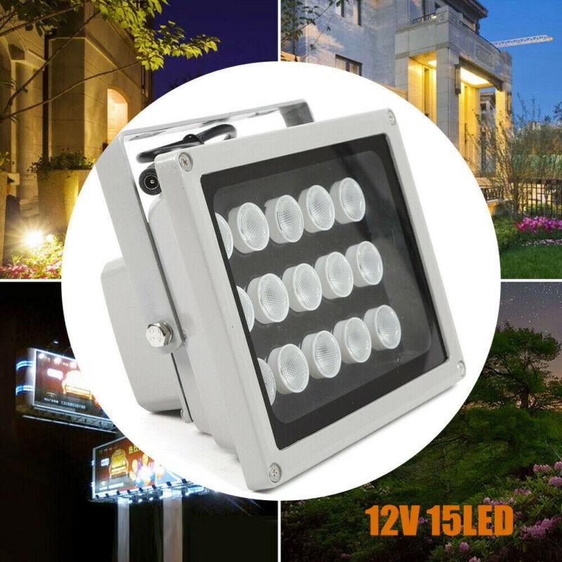 2PCS IR Illuminator CCTV LED Light Infrared Night Vision Lamp For Camera CCTV