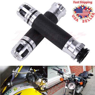 7/8'' 22mm Aluminum Motorcycle Hand Twist Throttle Handlebar Hand Grip Universal