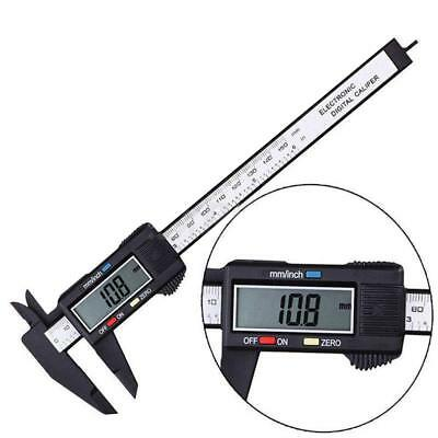 Stainless Steel Digital Lcd Vernier Electronic Caliper Ruler Micrometer Guage Us