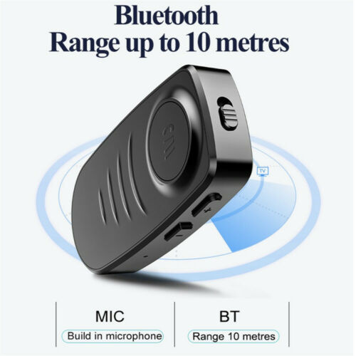 Bluetooth 5.0 Audio Music Receiver Wireless 3.5mm AUX Home Car Adapter Handsfree Computers/Tablets & Networking