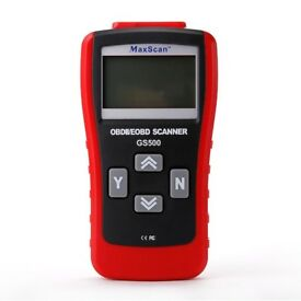 GS500 OBD2 II OBD2 Car Fault Code Removal Scanner