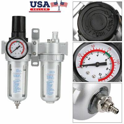 Sfc400 Air Compressor Pressure Regulator Water Trap Filter Moisture Gauge G14