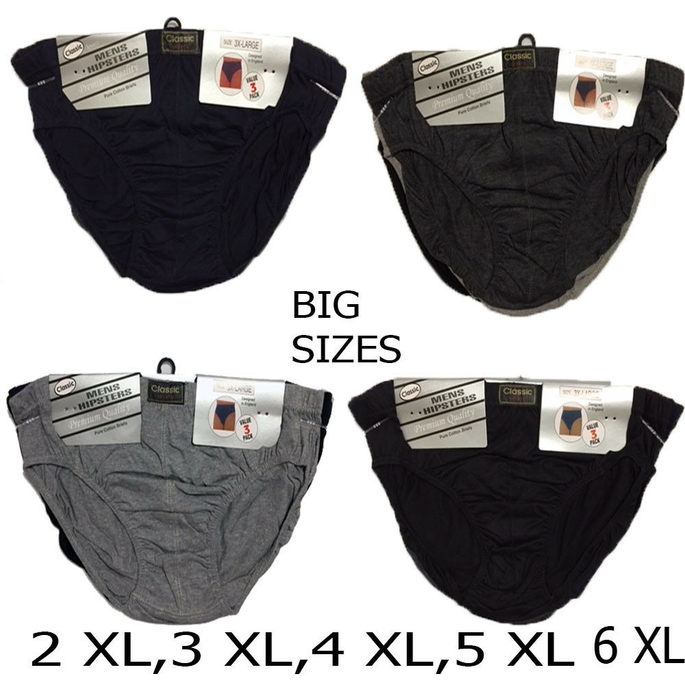 9 X Pairs BIG SIZES Men Button Fly  CLASSIC SPORT  BOXERS UNDERWEAR 2XL-6XL
