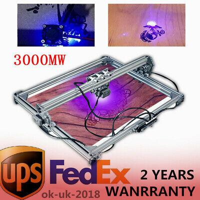 3000mw 50x65cm Area Mini Laser Engraving Machine Diy Kit Desktop Laser Printer