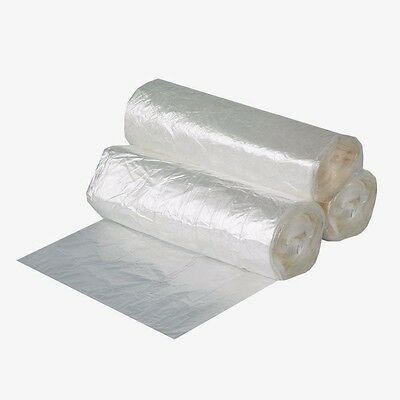 - 1000 Count 7-10 Gallon High Density Trash Bags Garbage Can Liners Clear