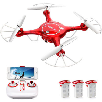 2.4G 4CH 6-Axis Gyro Loiter HD RC Quadcopter Drone with WIFI Camera Drone FPV RTF