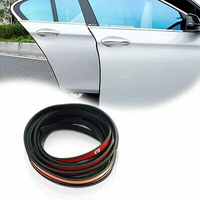 4.5M Black Rubber Car Side Door Edge Guard Bumper Protection Strip For Audi&Ford