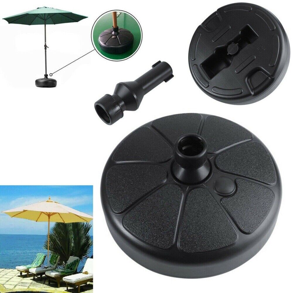"15"" Patio Umbrella Base Stand Heavy Duty Holder Outdoor Yard"