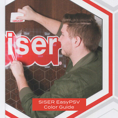 Siser EasyPSV Color Guide **FREE SHIPPING**