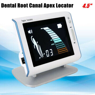 Hd Dental Apex Locator Apical Root Canal Finder Measure 4.5 Clear Bright Lcd