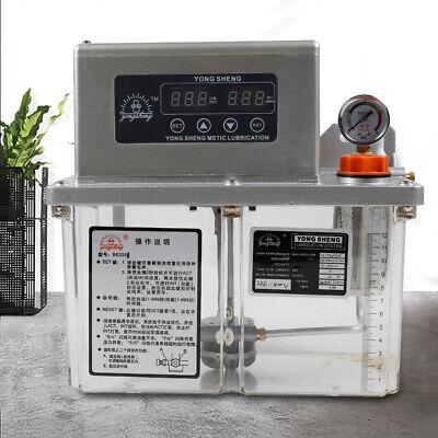 4l Electric Automatic Lubrication Pump Machine Tool Lubrication Pump 110v 60hz