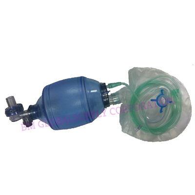 Adult Bag Valve Mask Resuscitator Mpr - 2500 Ccml Bag 5808