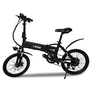 E-Bike-Bicicletta-Elettrica-Pieghevole-i-Fold-20-I-Bike-Nero