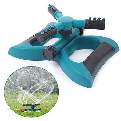 2pcs Lawn Irrigation Sprinkler Trigeminal Nozzle 360rotating Sprinkler 260g Usa