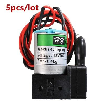 5 Pcs Dc12v 3w100mlmin Small Ink Pump Anti-corrosion For Large Format Printer