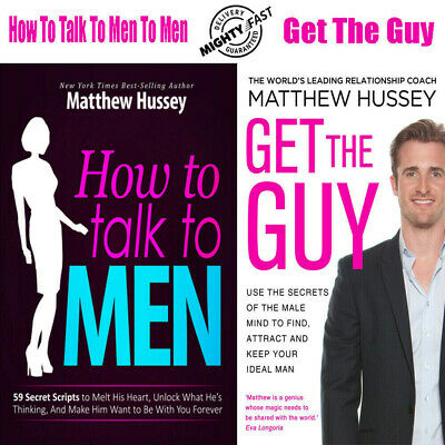 How To Talk To MEN by Matthew Hussey + GET THE GUY ᑭ.ᗪ.ᖴ KINᗪᒪE ⚡ɪɴsᴛᴀɴᴛ ᴅᴇʟɪᴠʀ⚡
