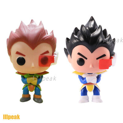 2Pcs Dragonball Z #10 Planet Arlia Vegeta Funko Pop Vinyl Figure Toy with Box for sale  Shipping to South Africa