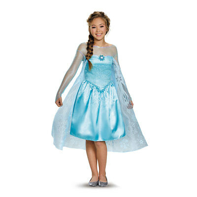Frozen Tween Elsa Costume Size Large 10-12