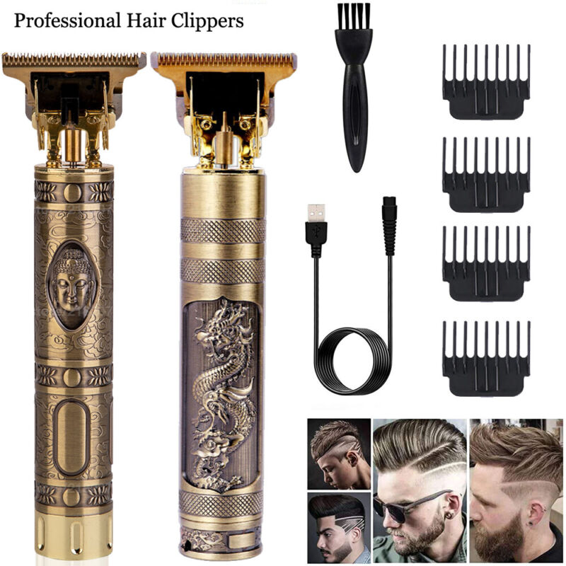 Professional Hair Clippers Trimmer Cutting Beard Cordless Barber Shaving Machine