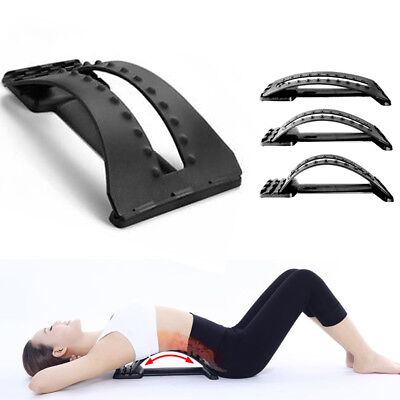 Lumbar Support Back Stretcher Device for Pain Relief – Spine Stretcher Equipment