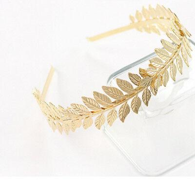 Goddess Chic Hair Grecian Olive Branch Girl Women Headband Crown Leaf Band](Goddess Headband)