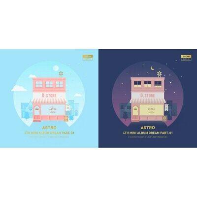 ASTRO 4th Mini Album [Dream Part. 01] 2Ver SET CD+Photobook+Postcard+Photocard