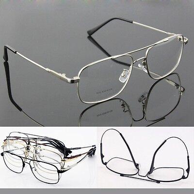 (Memory Titanium Alloy Full-flex Flexible Pilot Eyeglass Frame Optical Glasses)