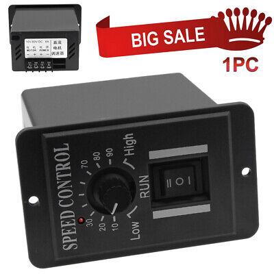 1pc Dc12v 24v 36v 48v Pwm Motor Speed Controller Reversible Switch Regulator New