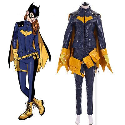 Super Hero Batgirl Cosplay Costume Barbara Gordon cosplay costume outfit  - Super Hero Outfit