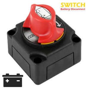 300A Battery Isolator Disconnect Switch for Marine Boat Car Rv ATV Vehicles