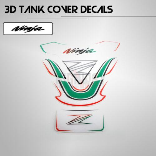 Sticker Decal Gas Fuel Tank Protector Pad For Kawasaki Z650