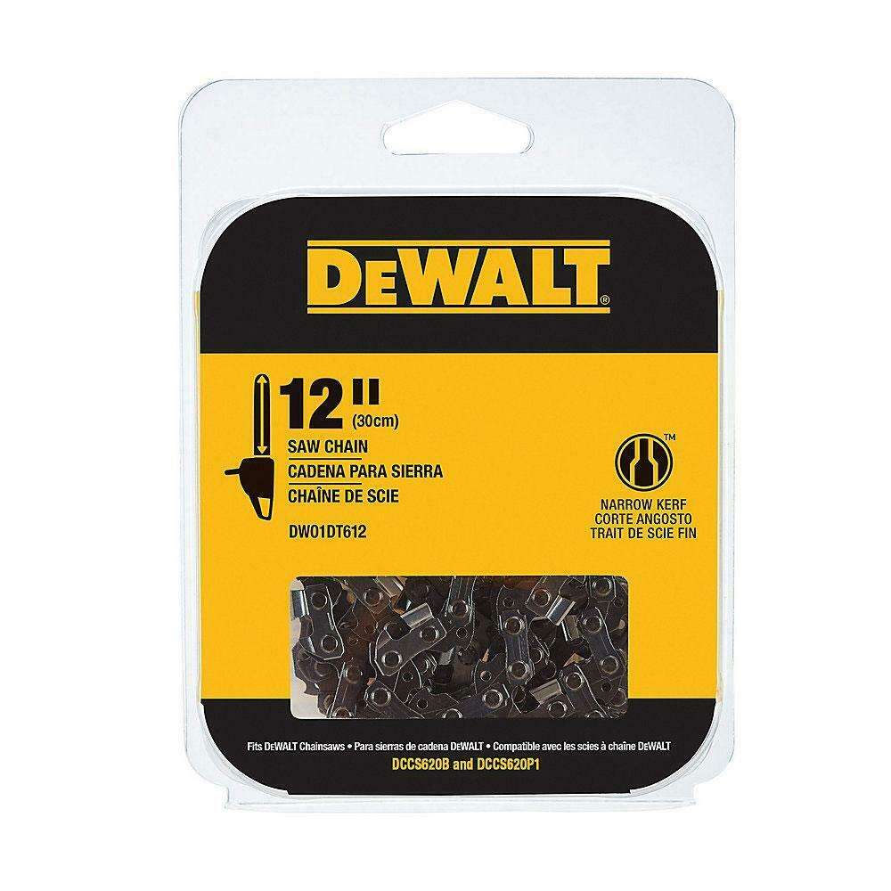 DeWALT DWO1DT612 12 Replacement Saw Chain