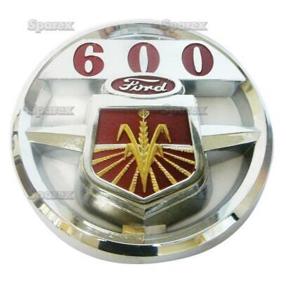 S.60616 Emblem Hood Chrome Ford 600 Fits Fordnew Holland