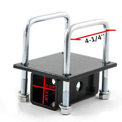 RV Bumper Hitch Receiver Adapter For Trailer Camper Motorhome Bike Cargo Carrier