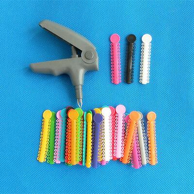 Ligature Shooter Dispenser Gun 1040 Dental Mix Color Orthodontic Ligature Ties