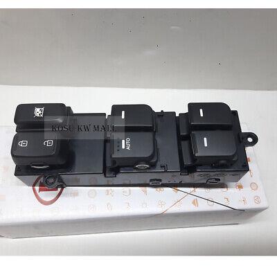 Genuine OEM Power Window Main Switch 935702T010 for 2011-2013 KIA Optima